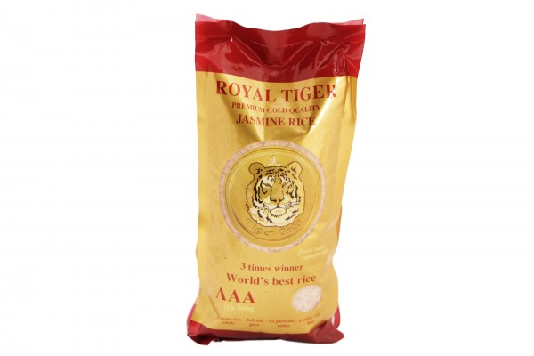Royal Tiger Jasminreis (Duftreis) - Premium Gold Quality
