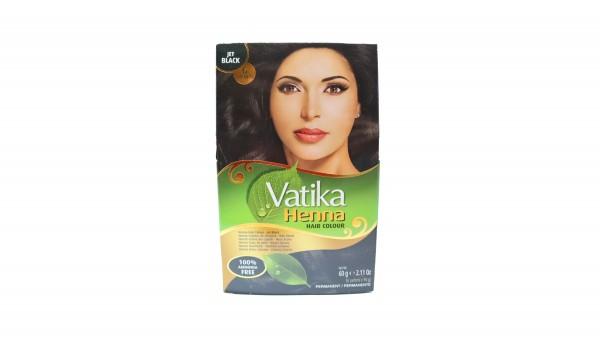 Vatika Henna Jet Black Haarfarbe