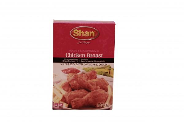 Shan Chicken Broast für gebratene, panierte Hühnchen
