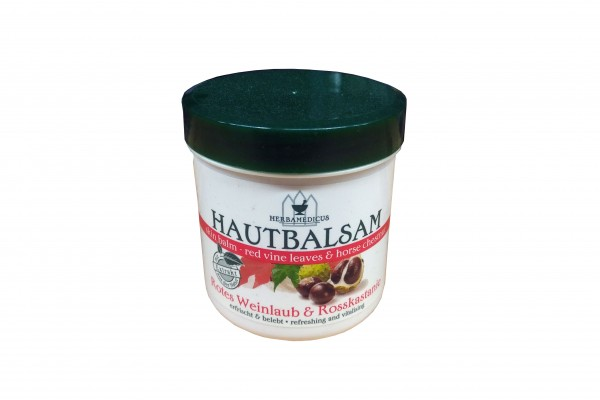 Herbamedicus Hautbalsam rotes Weinlaub & Rosskastanie