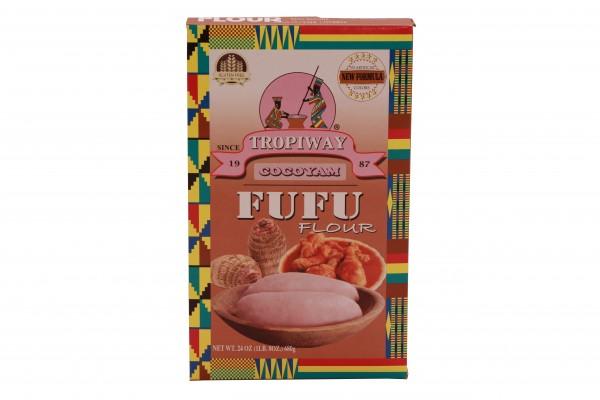 Tropiway Fufu-Mehl aus Cocoyam (Taro)