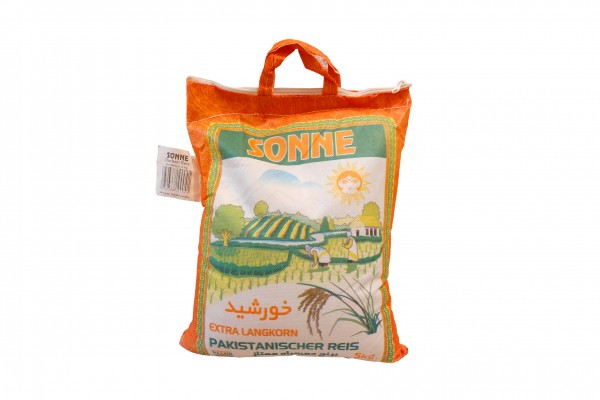 Sonne Pakistanischer Reis
