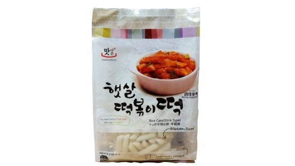 Matamun Koreanische Reiskuchen glutenfrei (herzhaft)
