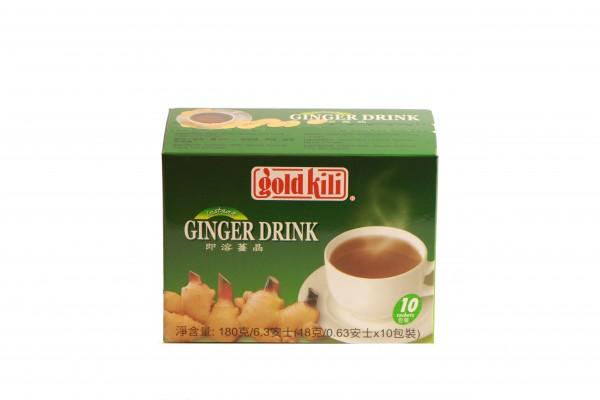 Gold Kili Ingwer-Getränk