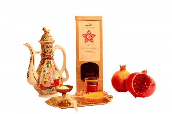 Jalda Chai Mamanjun (schwarzer Tee mit Kardamom)
