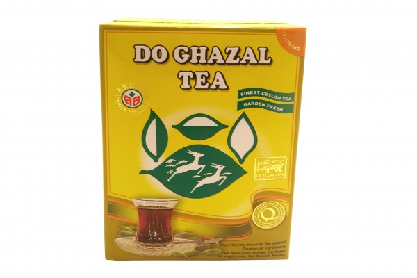 Do Ghazal Ceylon Tee (Schwarztee) mit Kardamom