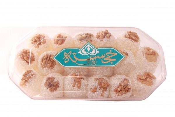 Khojasteh Baslogh Persische Süßigkeit mit Walnuss (Shirini Eid Nowrooz)