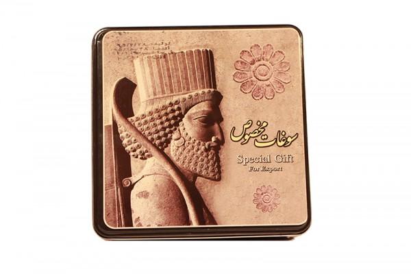 Masghati Persische Süßigkeit mit Berberitzen und Mandeln 1 Kg