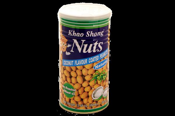 Khao Shong Erdnüsse mit Kokosmilch