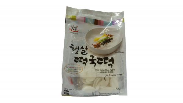 Matamun Koreanischer Reiskuchen (Bratkartoffelscheiben Form)