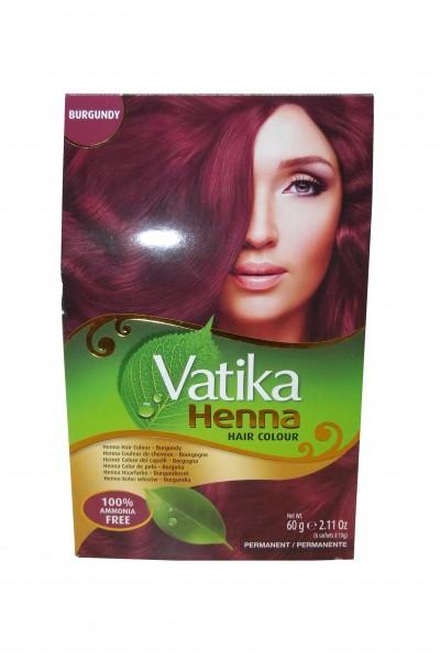 Vatika Henna Haarfarbe Burgunderrot