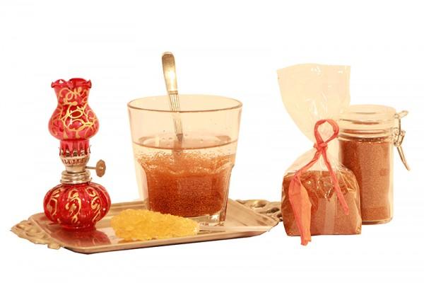 Jalda Khakshir, exotisches Getränk aus dem Iran