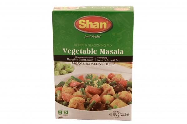 Shan Vegetable Masala Gewürze für Gemüse