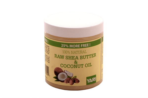 Yari 100% Reine Sheabutter mit Kokosöl