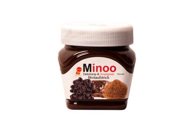 Minoo Süßer Brotaufstrich aus Datteln & Sesam (vegan)