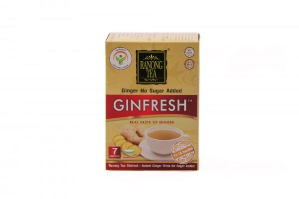 Ranong Tee Gingerfresh Ingwer-Instant-Getränk, zuckerfrei