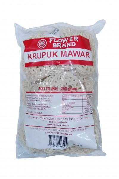 Flower Brand Krupuk Mawar (vegetarischer Snack)